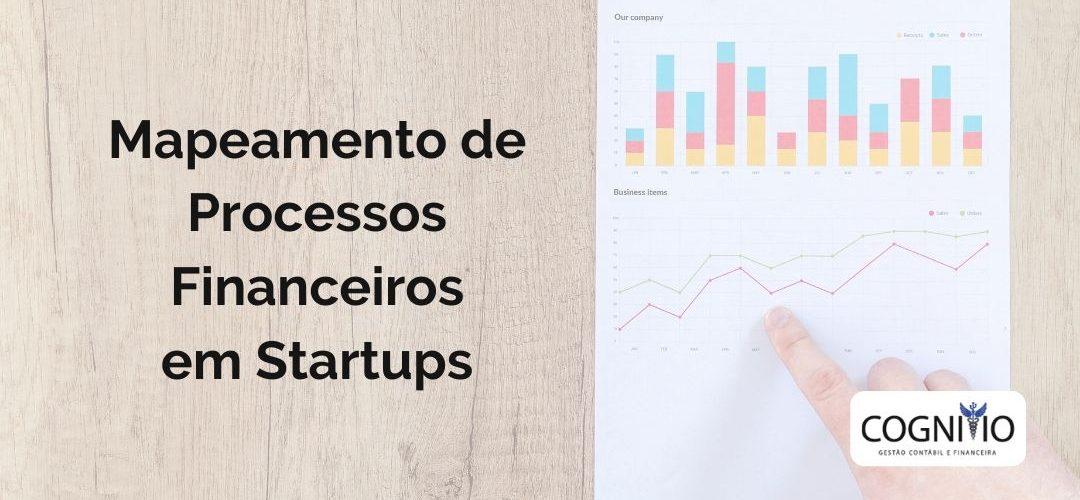 Mapeamento de Processos do Departamento Financeiro em Startups