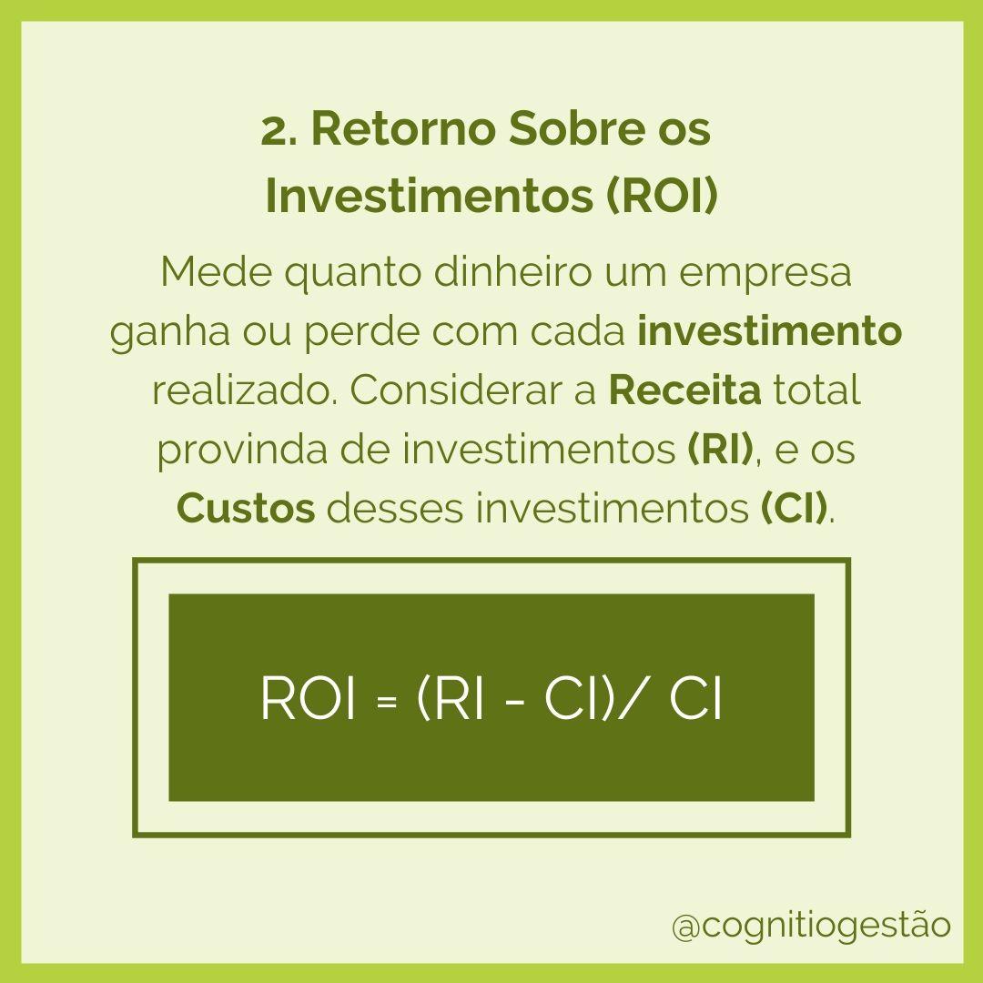 ROI Formula e Descrição
