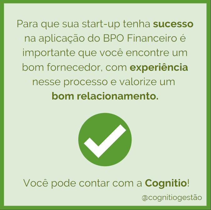 Como ter sucesso no BPO financeiro para minha startup