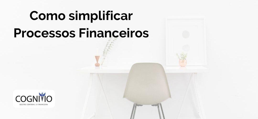 Simplifique os processos financeiros da sua startup