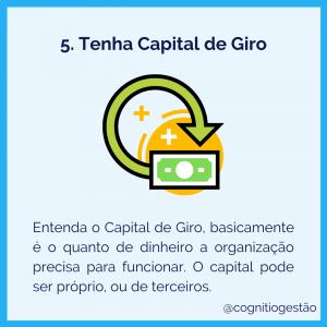 otimizar as finanças de startups