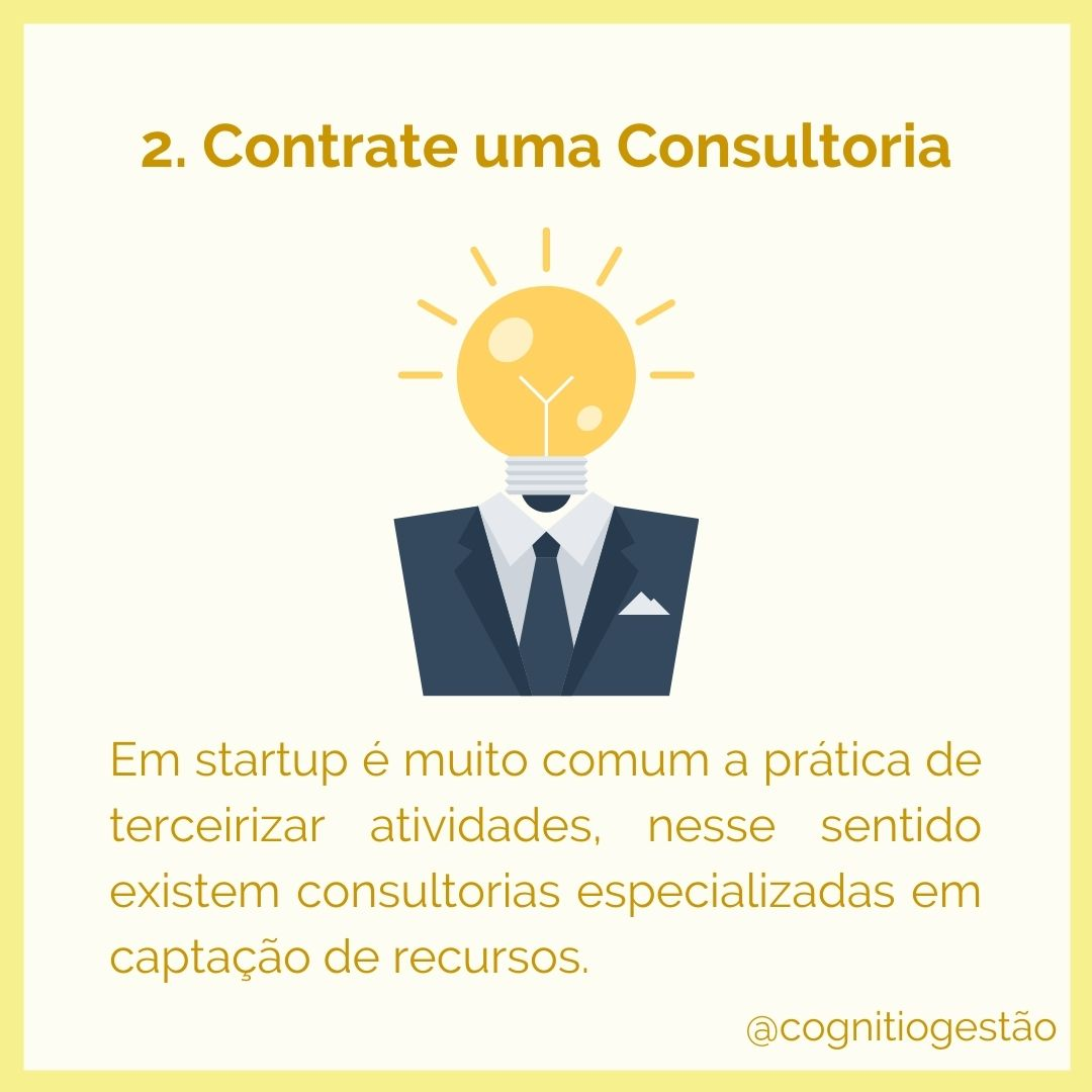 captação de recursos para startups