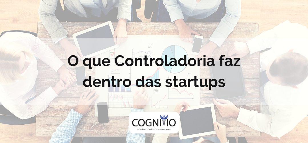 O que controladoria faz dentro das startups